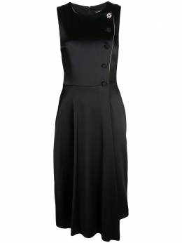 Adam Lippes платье асимметричного кроя без рукавов P19719DH