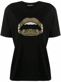Markus Lupfer футболка с пайетками TEE398