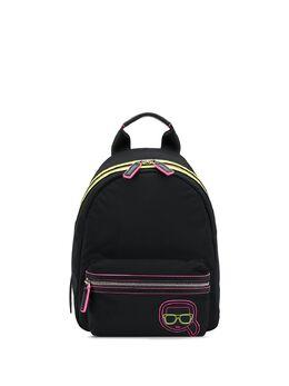 Karl Lagerfeld рюкзак K/Ikonik с неоновой вставкой 205W3012999