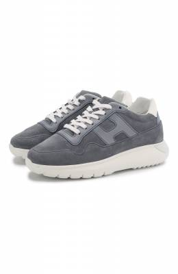 Замшевые кроссовки Hogan HXC3710AP30NN0