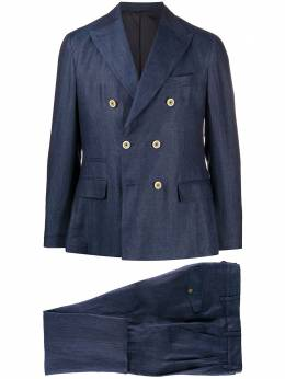 Eleventy костюм с двубортным пиджаком A70ABUA03TES0A019