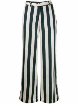 Jejia брюки широкого кроя в полоску 2839J1P007205062