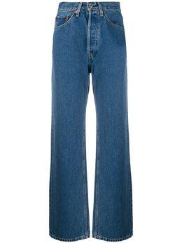 Re/Done широкие джинсы с завышенной талией 1603W3LJ