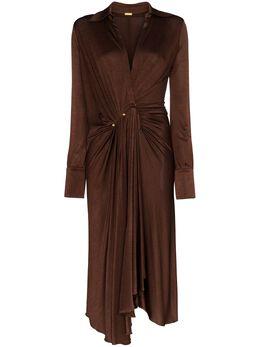 Dodo Bar Or платье миди с заниженной талией и V-образным вырезом DBO1227