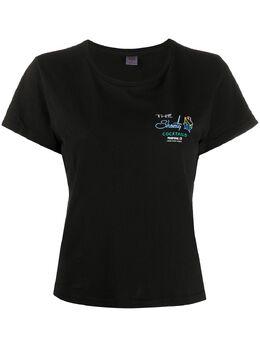Re/Done футболка с короткими рукавами и надписью 0242WCGT124