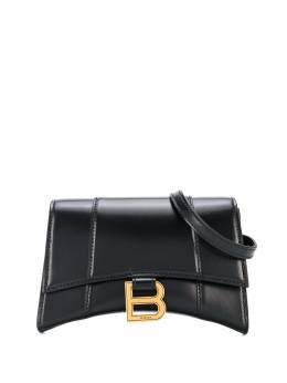 Balenciaga маленькая поясная сумка Hourglass 6104601QJ4M