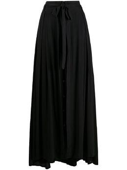 Ann Demeulemeester длинная юбка с поясом 20011750119