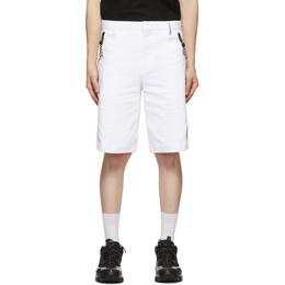 Burberry White Globe Tailored Shorts 4559343