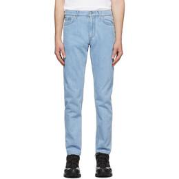 Burberry Blue Japanese Denim Straight-Fit Jeans 8028882