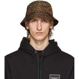 Burberry Brown Monogram Bucket Hat 8026920