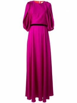 Roksanda драпированное вечернее платье с поясом SS20H16671