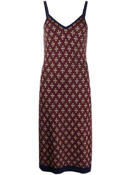 Temperley London жаккардовое платье миди Madame 20UMDK53625