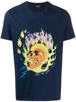 Zadig & Voltaire футболка с принтом SJTP1810H