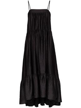 Simon Miller длинное платье Pumpa с оборками W4253095