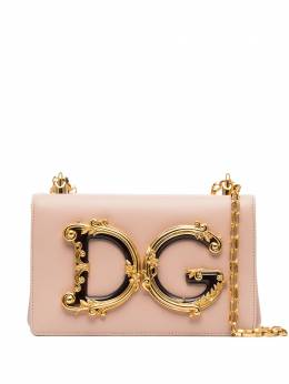 Dolce&Gabbana сумка на плечо DG Girls с логотипом BB6498AZ801