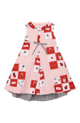 Хлопковое платье Simonetta 1M1222/MC131/5-8