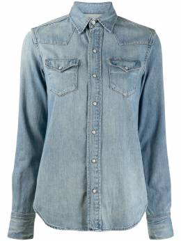 Polo Ralph Lauren джинсовая рубашка с карманами 211750495