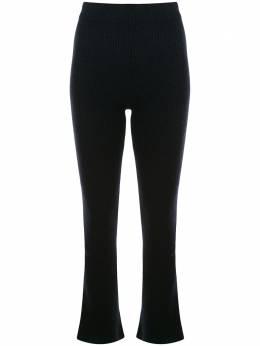 The Elder Statesman кашемировые брюки в рубчик 180022