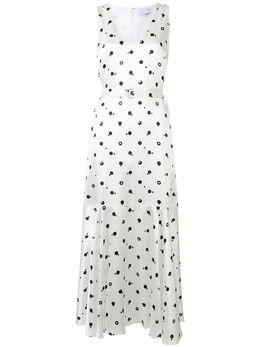 Rosetta Getty платье Bauhaus в горох 111205H2569