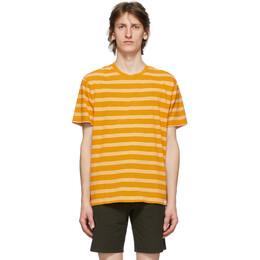 Norse Projects Orange Stripe Johannes T-Shirt N01-0457