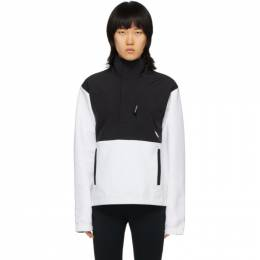 The North Face Black and White Graphic Collection Pullover Jacket NF0A48TP