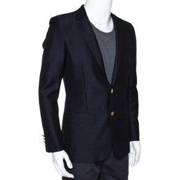 Saint Laurent Black Wool Two Buttoned Jacket M 286489