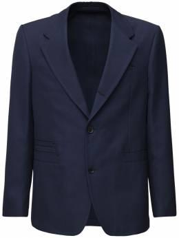 Wool & Cotton Single Breast Jacket Salvatore Ferragamo 71IX0A001-NzI5Njgz0