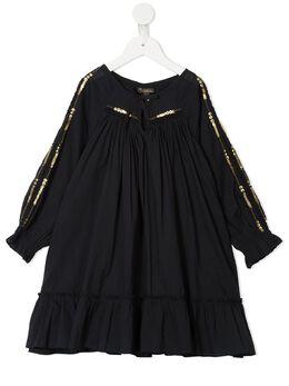 Velveteen платье Frankie со складками S20G07003BKCV