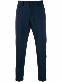 Low Brand укороченные брюки чинос прямого кроя L1PSS205141E003
