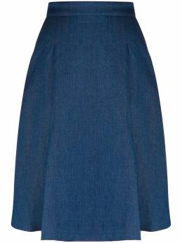 Massimo Alba джинсовая юбка Rosa А-силуэта ROSAT3135