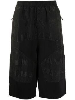 Stone Island Shadow Project длинные шорты-бермуды со вставками MO7219L0201