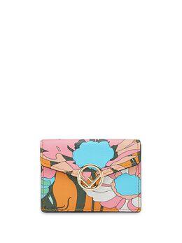 Fendi маленький кошелек в три сложения 8M0395ABMX