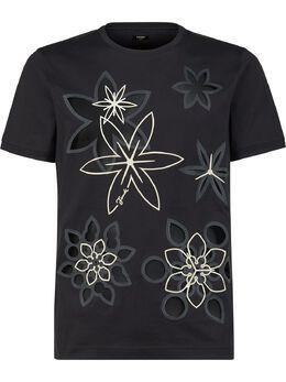 Fendi футболка Kaleido с принтом FY0894ABP0