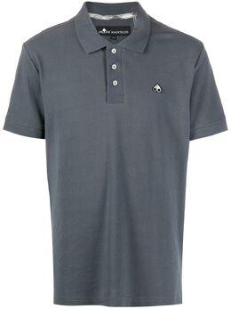 Moose Knuckles рубашка поло с вышитым логотипом M10MT712
