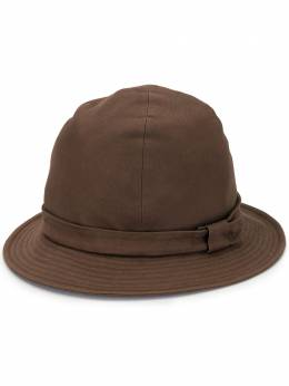 Yohji Yamamoto Pre-Owned шляпа с узкими полями HMH04046