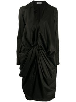 Co платье-рубашка со сборками 4124KKDC