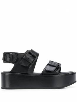Ann Demeulemeester сандалии на платформе с пряжками 20132810378