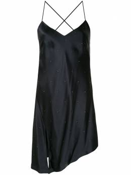 Michelle Mason коктейльное платье со стразами M9275