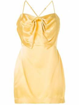 Michelle Mason коктейльное платье с бантом M9277