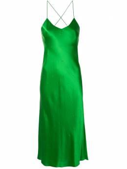 Michelle Mason коктейльное платье без рукавов с бретелями M9272B