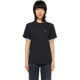 Noah Nyc Black Pocket T-Shirt PT1SS20BLK