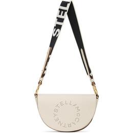 Stella McCartney White Marlee Logo Bag 700083W8542