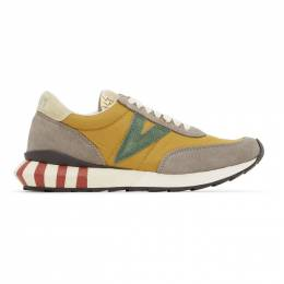 Visvim Yellow Attica Sneakers 0120101001005