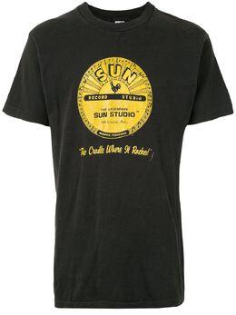 Fake Alpha Vintage футболка с принтом Sun Record TS0199