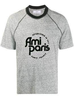 Ami Paris футболка с логотипом A20HJ139729