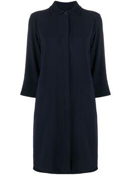 Alberto Biani платье-рубашка прямого кроя EE854AC0028