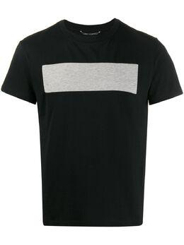 Random Identities футболка со вставкой спереди JS04