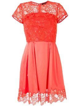 Paule Ka коктейльное платье с цветочным кружевом 213R185C