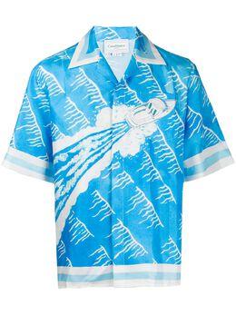 Casablanca рубашка с короткими рукавами и принтом MS20SH003