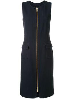 Paule Ka платье на молнии спереди 112R193